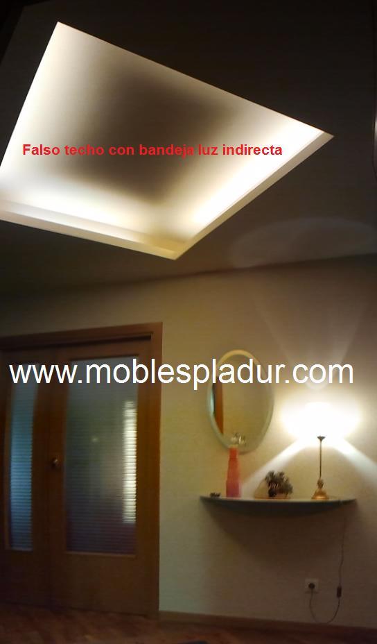 Auxiliar - Iluminacion falso techo ...