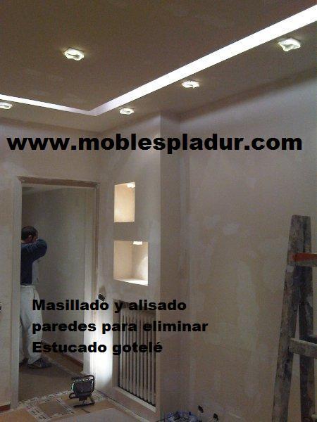 Soluciones pladur muebles decoraci n tabiques y techos - Muebles de pladur para salon ...
