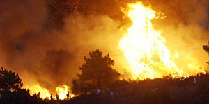 Incendio en Castiila La Mancha