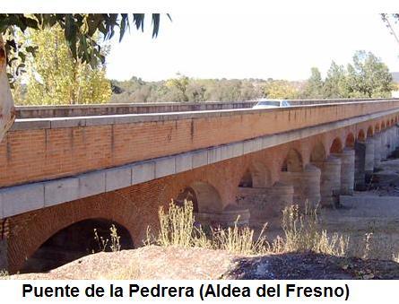 Puente de La Pedrera sobre el Alberche (Aldea del Fresno)