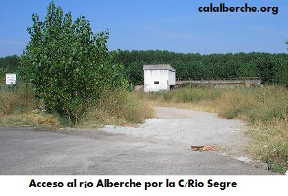 Acceso por Calle Río Segre