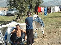 Prohibida la acampada con caracter general.