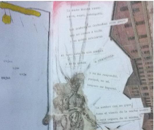 Fragmento de una de las páginas del PEQUEÑO CUADERNO DE DUDAS, de Carlos León Liquete
