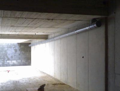 Desguas general 200 mm. per soterrani finca