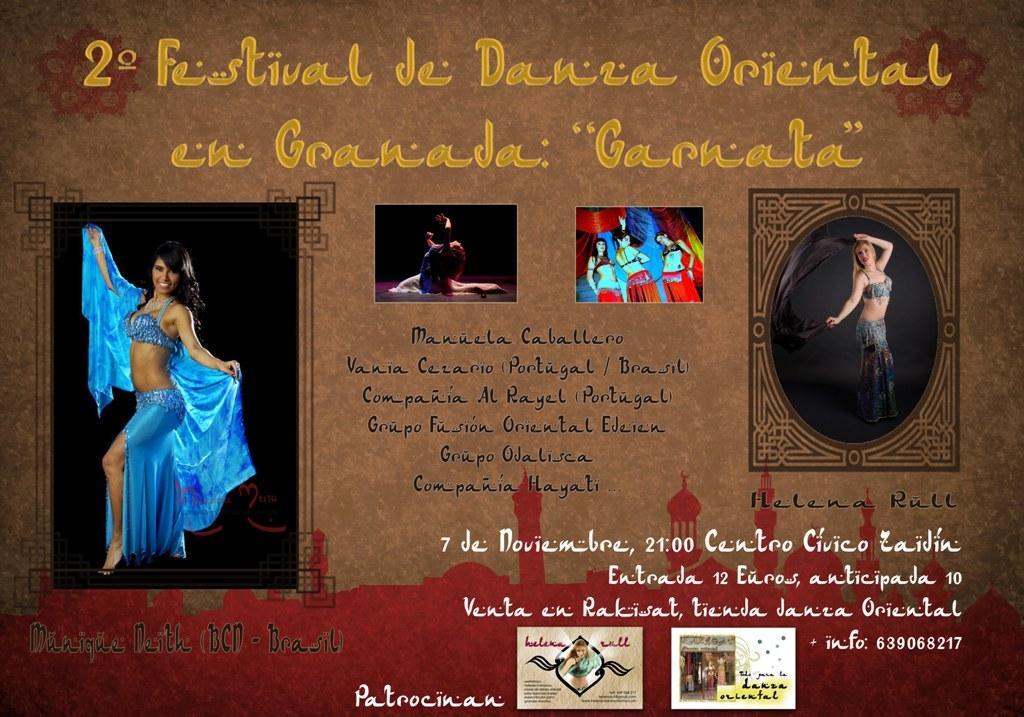 Espectáculo Danza Oriental Granada