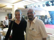 Helena Rull y Zaza Hassan